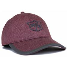 Wilson Staff Men's One Touch Personalized Hat - Brick Red