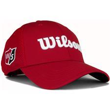 Wilson Staff Men's Tour Mesh Hat - Red