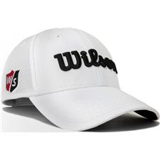 Wilson Staff Men's Tour Mesh Hat - White