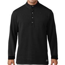 Adidas Men's Button-Up Pique Henley