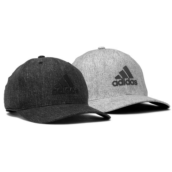Adidas Men's Heather Print Snapback Hat