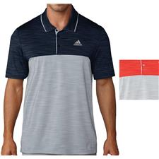 Adidas Men's Ultimate 365 Heather Blocked Polo