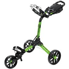 BagBoy Nitron Auto-Open Push Cart - Lime