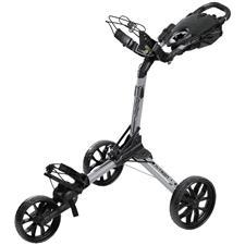 BagBoy Nitron Auto-Open Push Cart - Silver-Black