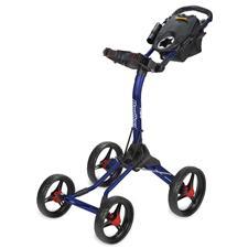 BagBoy Quad XL Push Cart - Navy-Red