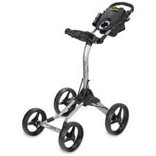 BagBoy Quad XL Push Cart - Silver-Black
