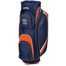 BagBoy Revolver FX Cart Bag - Midnight Blue-Orange-White