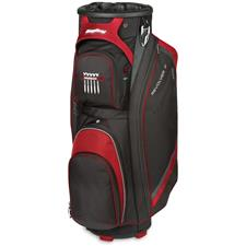BagBoy Revolver FX Cart Bag - Black-Red-Silver