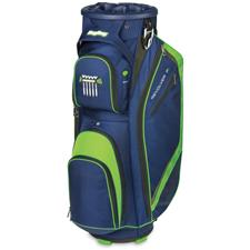 BagBoy Revolver FX Cart Bag - Navy-Lime-Silver
