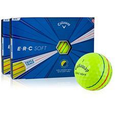 Callaway Golf ERC Soft Yellow Golf Balls - 2 Dozen