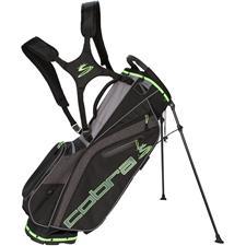 Cobra Ultralight Stand Bag - Black-Green Gecko