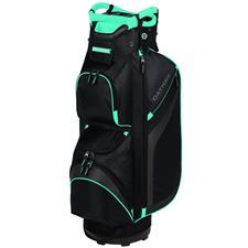 Datrek DG Lite II Cart Bag for Women - Black-Charcoal-Turquoise