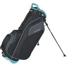 Datrek Go Lite Hybrid Stand Bag for Women - Black-Slate-Turquoise