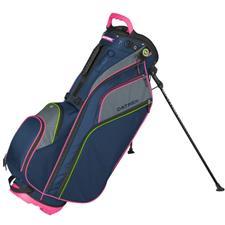 Datrek Go Lite Hybrid Stand Bag for Women - Navy-Pink-Lime