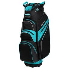 Datrek Lite Rider Pro Cart Bag for Women - Black-Powder Blue-Silver