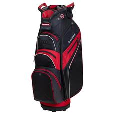 Datrek Lite Rider Pro Cart Bag - Black-Red-Silver