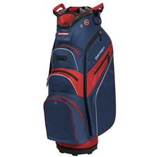 Datrek Lite Rider Pro Cart Bag - Navy-Red-Silver
