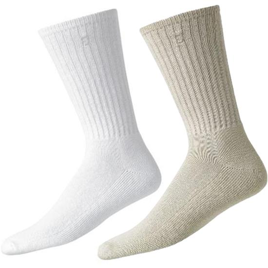 FootJoy Men's ComfortSof Cotton Crew Sock