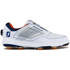 FootJoy White-Grey-Navy FJ Fury BOA Golf Shoe