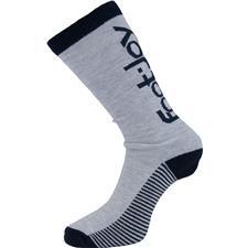 FootJoy Men's ProDry Heritage Crew Sock - Grey-Navy