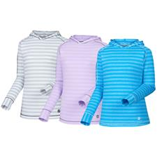 FootJoy Custom Logo Pullover Hoodie in Jersey Melange for Women