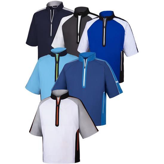 FootJoy Men's Sport Short Sleeve Windshirt