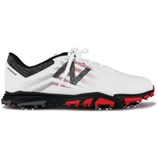 New Balance White-Red-Black Minimus Tour Golf Shoe