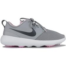 Nike Roshe G Golf Shoes for Women - Wolf Grey-Cool Grey-White-Pink Foam - 6 Medium