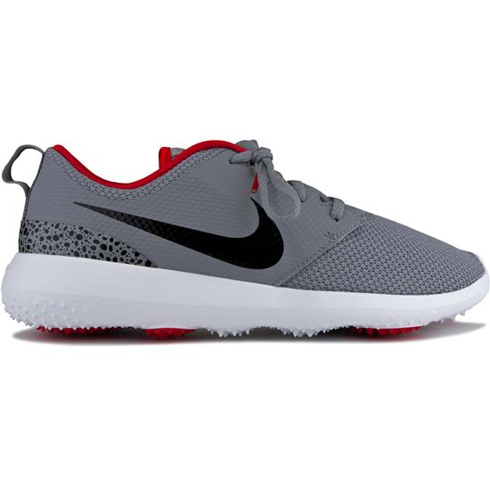 Roshe G Golf Shoes Cement Grey Black White University Red 7 12 Medium