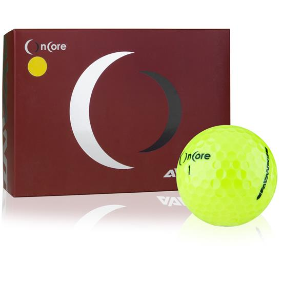 OnCore Avant 55 Yellow Golf Balls