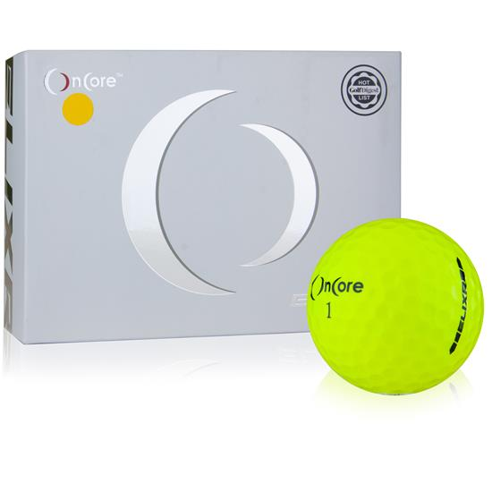 OnCore ELIXR Yellow Golf Balls