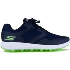 Skechers Navy-Green Go Golf Max Fade Golf Shoe for Women