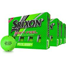 Srixon Soft Feel Brite Green Golf Ball - Buy 3 Get 1 Free
