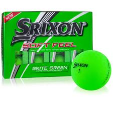 Srixon Soft Feel Brite Green Personalized Golf Ball