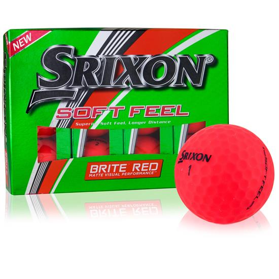 Srixon Soft Feel Brite Red Golf Ball