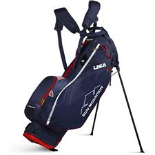 Sun Mountain 2.5+ 14-Way Stand Bag - Navy-White-Red