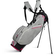 Sun Mountain 2.5+ Stand Bag for Women - Black-White Atomic-Pink