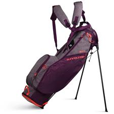 Sun Mountain 2.5+ Stand Bag for Women - Plum-Heather-Coral