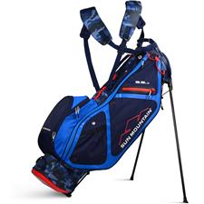 Sun Mountain 3.5LS Stand Bag - Camo-Navy-Cobalt-Red