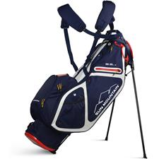 Sun Mountain 3.5LS Zero-G Stand Bag - Navy-White-Red