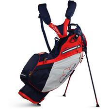 Sun Mountain 4.5LS 14-Way Stand Bag - Navy-White-Red