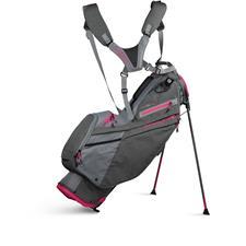 Sun Mountain 4.5LS Stand Bag for Women - Carbon-Cadet-Pink