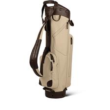 Sun Mountain Canvas/Leather Cart Bag - Canvas-Brown