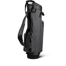 Sun Mountain Canvas/Leather Cart Bag - Slate-Black
