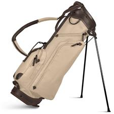 Sun Mountain Canvas/Leather Stand Bag - Canvas-Brown