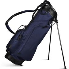 Sun Mountain Canvas/Leather Stand Bag - Navy-White
