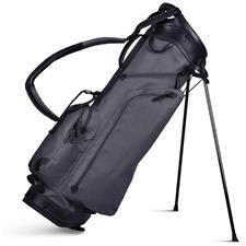 Sun Mountain Canvas/Leather Stand Bag - Slate-Black