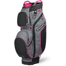 Sun Mountain Diva Cart Bag for Women - Black-Carbon-Pink