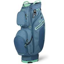 Sun Mountain Diva Cart Bag for Women - Spruce-Spruce Heather-Ice