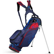 Sun Mountain Eco-Lite Stand Bag - Navy-Red-Cobalt